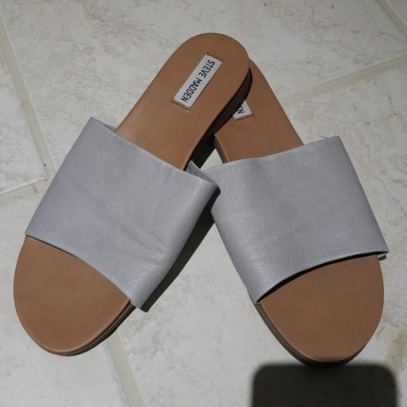 6cc54ade8be Steve madden karolyn flat sandal grey color